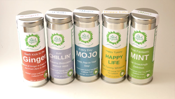Herbal Tea Cans